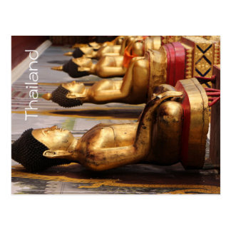 Carte postale de la Thaïlande Bouddha