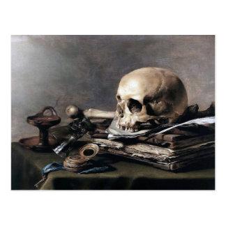 Carte postale de la vie de Pieter Claesz toujours