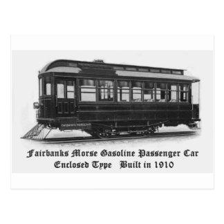 Carte postale de la voiture #24 de Fairbanks Morse