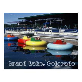 Carte postale de lac grand, le Colorado