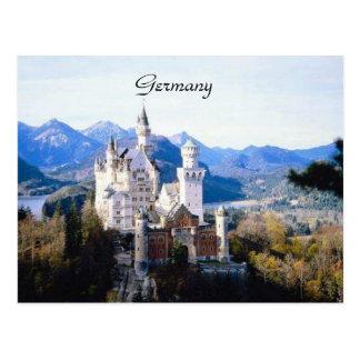 Carte postale de l'Allemagne