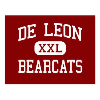 Carte Postale De Léon - Bearcats - lycée - De Léon le Texas