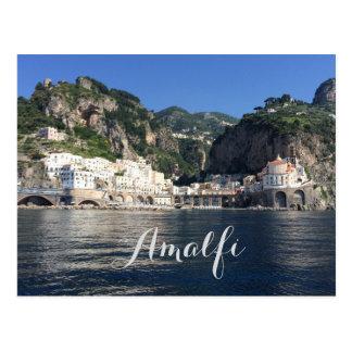 Carte postale de l'Italie de côte d'Amalfi
