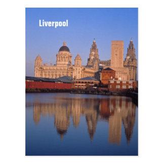 Carte postale de Liverpool