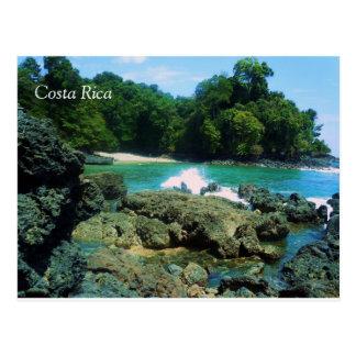 Carte postale de l'océan pacifique - Costa Rica