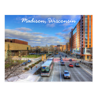Carte postale de Madison le Wisconsin