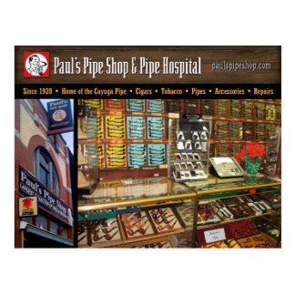 Carte postale de magasin du tuyau de Paul