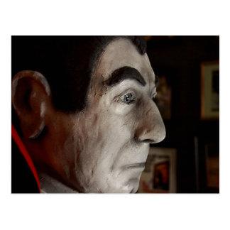 Carte postale de masque de Bela Lugosi