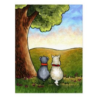 Carte postale de meilleurs amis