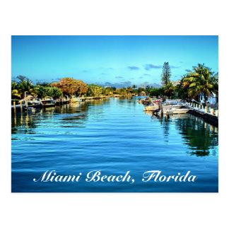 Carte postale de Miami Beach la Floride