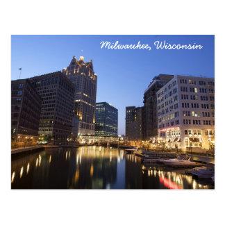 Carte postale de Milwaukee, le Wisconsin