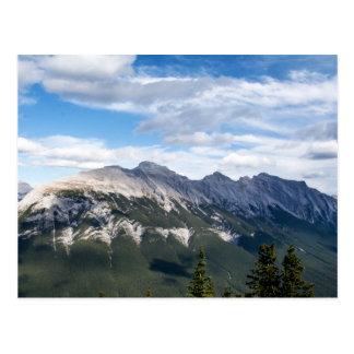 Carte postale de montagnes rocheuses