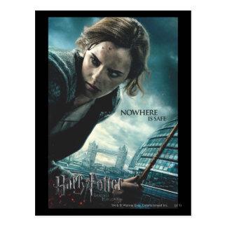 Carte Postale De mort sanctifie - Hermione 2