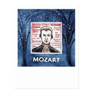 Carte postale de Mozart
