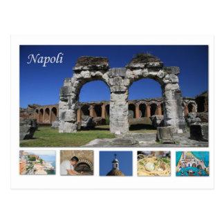 Carte postale de Napoli, Italie