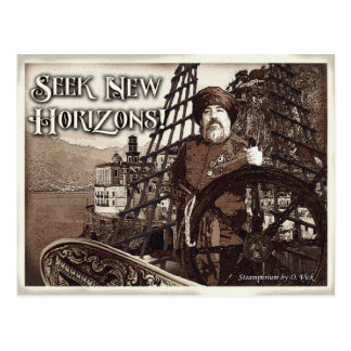 Carte postale de New Horizons de recherche