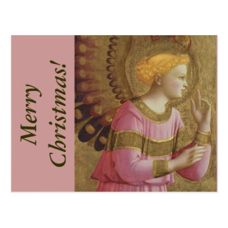 Carte postale de Noël d'ange d'ATF Angelico