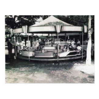 Carte postale de parc d'attractions de San Souci