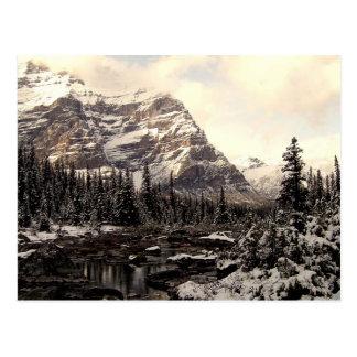 Carte postale de parc national de Banff