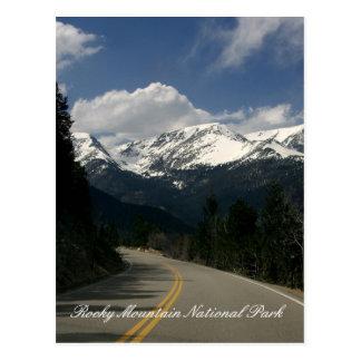 Carte postale de parc national de montagne