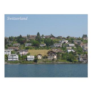 Carte postale de paysage de la Suisse