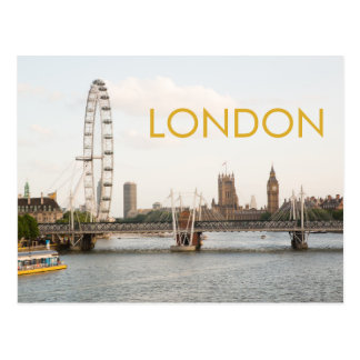 Carte postale de photo de Londres