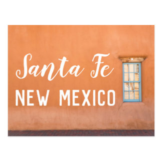 Carte postale de photo de Santa Fe, Nouveau