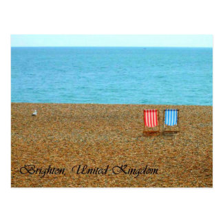 Carte postale de plage de Brighton