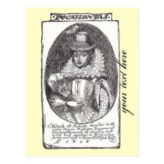 Carte postale de Pocahontas