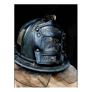 Carte postale de pompier de Houston