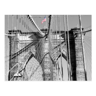 Carte postale de pont de Brooklyn