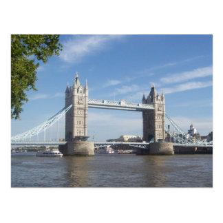 Carte postale de pont de tour