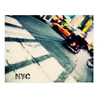 Carte postale de précipitation de NYC