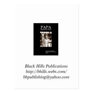Carte postale de publications de Black Hills