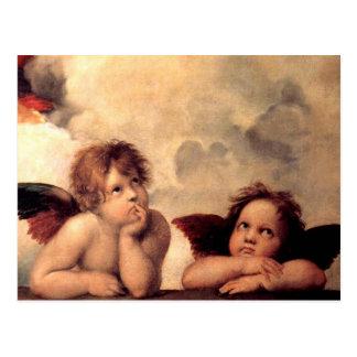 Carte postale de Putti de Rafaël