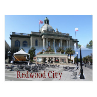 Carte postale de Redwood City