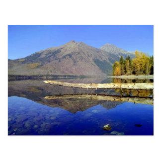 """Carte postale """"de réflexions de montagne"""""""