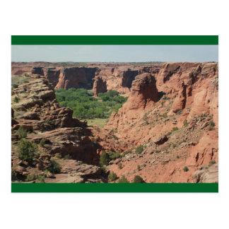Carte postale de Rock Canyon de Chelly Arizona