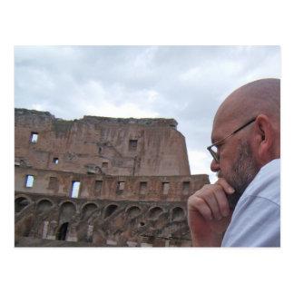 Carte postale de Rome, Italie