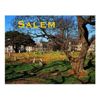 Carte postale de Salem (mA)