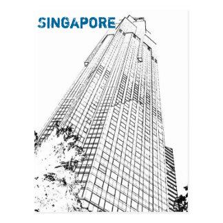Carte postale de Singapour : Gratte-ciel