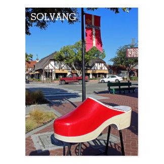 Carte postale de Solvang d'amusement !
