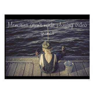 Carte postale de souvenirs