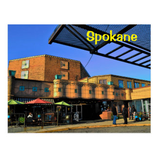 Carte postale de Spokane (guirlande)