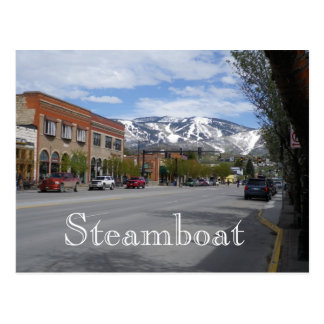 Carte postale de Steamboat Springs le Colorado