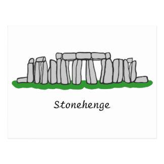 Carte postale de Stonehenge