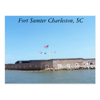 Carte postale de Sumter de fort