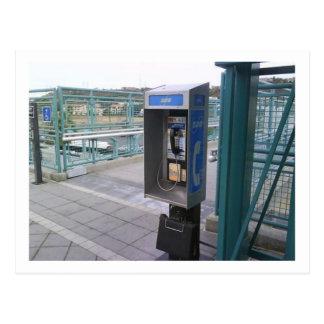 Carte postale de téléphone payant