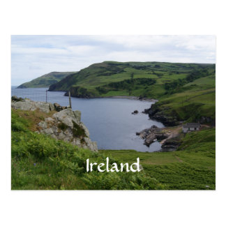 Carte postale de tête de torr de l'Irlande