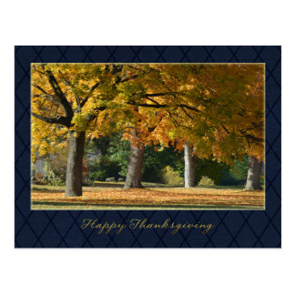 Carte postale de thanksgiving d'affaires/pour des